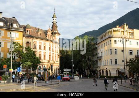 Bozen - Trentino Alto Adige, Italien - Stockfoto