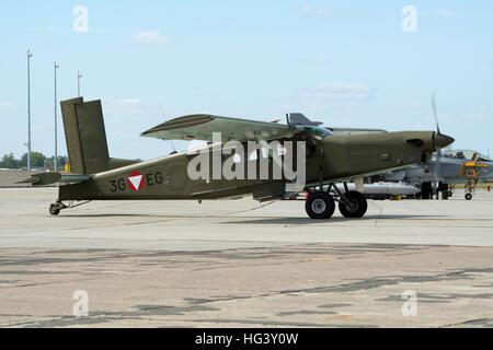 Pilatus PC-6 Porter von der österreichischen Luftwaffe - Stockfoto
