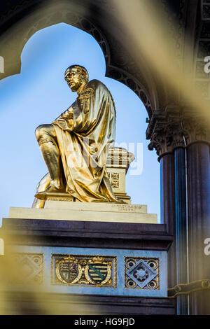 Albert Memorial, London, England, Großbritannien - Stockfoto