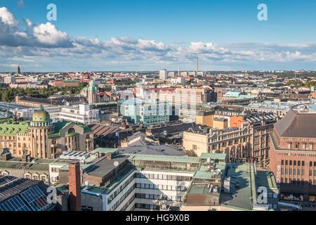 Stadtansicht von Helsinki in Finnland - Stockfoto