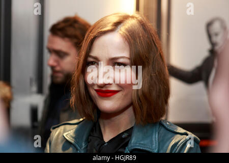 Edinburgh, UK. 22. Januar 2017. T2 Trainspotting Premiere beim Edinburgh Cineworld. Schottland. Abgebildete Kelly - Stockfoto