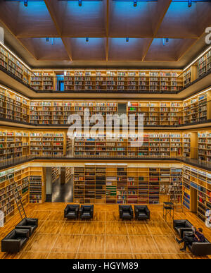 Buch-Cube, innen der Herzogin Anna Amalia Library, Weimar, Thüringen, Deutschland - Stockfoto