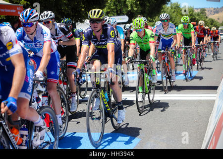 Adelaide, Australien. 17. Januar 2017.  Hostworks Stufe 1 Unley in Lyndoch, Santos Tour Down Under. Simon Gerrans - Stockfoto