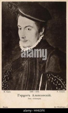 Porträt von Francois Clouet (1510-1572) Hercule-Francois de France Herzog von Anjou und Alencon (1555-1584) - der - Stockfoto
