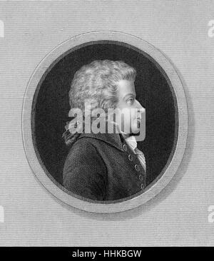 Wolfgang Amadeus Mozart, 1756-1791, ein Komponist der Wiener Klassik