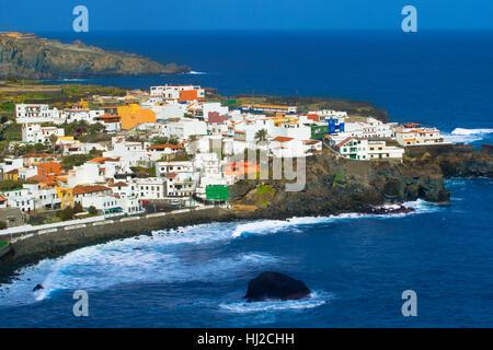 Garachico in Insel Teneriffa - Stockfoto