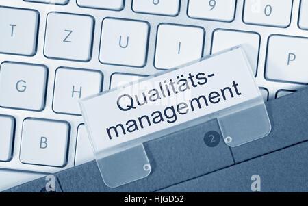 Qualitäts-management - Stockfoto