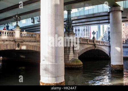 Brücke von Nihombashi, Tokyo, Japan - Stockfoto