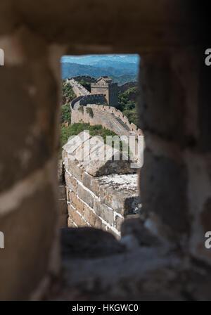 Die große Mauer von China - Stockfoto
