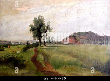 Ananyino Bestattungen (Ivan Shishkin) - Stockfoto