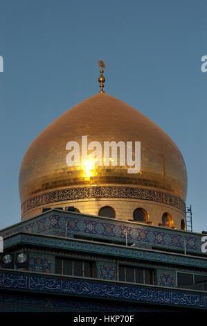 Sayyidah Zaynab Moschee Damaskus Syrien - Stockfoto