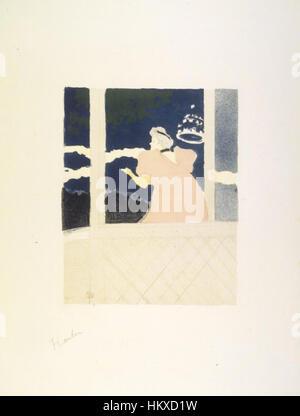 Brooklyn Museum - Aux Ambassadeurs (Au Cafe-Konzert) - Henri de Toulouse-Lautrec - Stockfoto