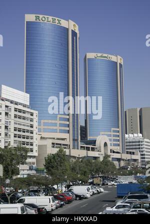 Twin Towers Shopping Centre, Dubai-City, Vereinigte Arabische Emirate - Stockfoto