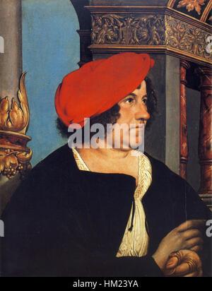 Jakob Meyer, von Hans Holbein dem jüngeren - Stockfoto