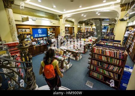 Libreria El Ateneo, Sucursal De La Calle Florida, Buenos Aires ...