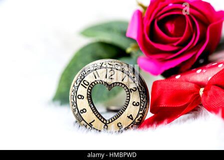 Valentinstag und süßeste Tag Liebe Konzept - Stockfoto