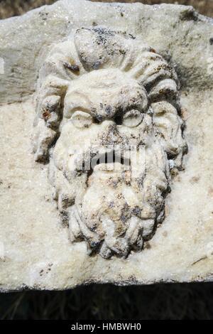 Aphrodisias Theater. Antiken Griechenland. Kleinasien. Turkei. - Stockfoto
