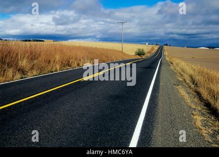 Airlie Road, Polk County Scenic Loop, Oregon. - Stockfoto