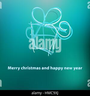 Weihnachtskarte-Template-Design.  + EPS8-Vektor-Datei - Stockfoto