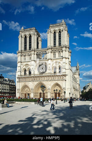 Kathedrale Notre-Dame, Paris, Frankreich - Stockfoto