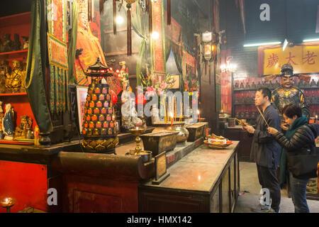 Tin Hau Tempel in Hong Kong - Stockfoto