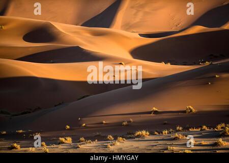 Sanddüne abstrakt genommen in Sossusveli, Namibia. - Stockfoto