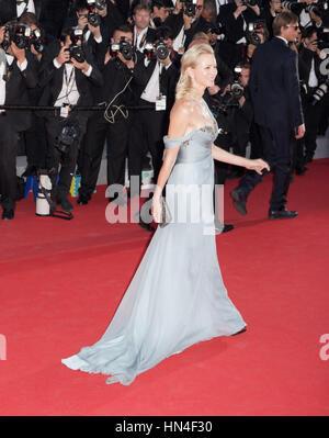 Naomi Watts kommt bei der Premiere des Films wie Train Your Dragon 2, auf dem Cannes Film Festival am 16. Mai 2014, - Stockfoto