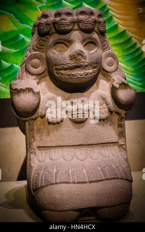 Das Nationalmuseum für Anthropologie (Spanisch: Museo Nacional de Antropología, MNA) ist ein nationales Museum von - Stockfoto