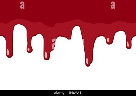 Blut tropft - Stockfoto