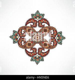 orientalische nahtlose muster von mandalas vektor abbildung bild 152681588 alamy. Black Bedroom Furniture Sets. Home Design Ideas