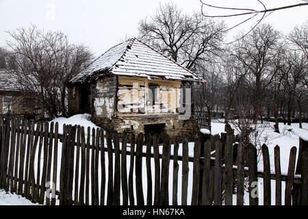 Ländliche Gegend in Rumänien, natürliche und reine Landschaften - Stockfoto