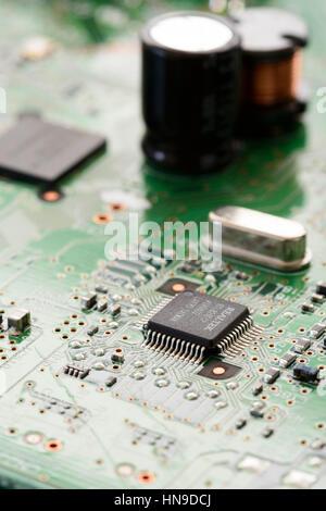 Nahaufnahme des elektronischen Circit board - Stockfoto