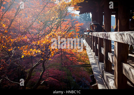 Kiyomizu-Dera Tempel, Kyoto. Kansai, Japan. - Stockfoto