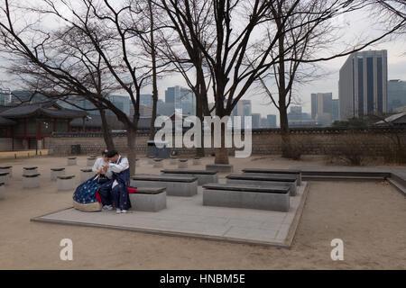 Seoul, Südkorea, Asien - Stockfoto
