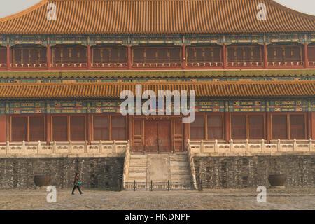 Verbotene Stadt, Peking Oder Peking, Volksrepublik China, Asien | die Verbotene Stadt, Peking, Volksrepublik China, - Stockfoto