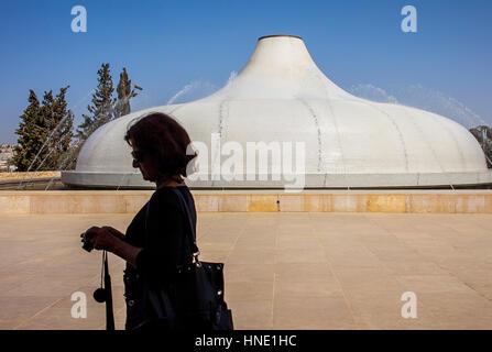 Tourismus in Israel-Museum, Schrein des Buches, Jerusalem, Israel. - Stockfoto