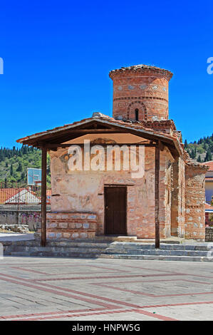 Kirche Panagia Koumbelidiki, Kastoria, Griechenland - Stockfoto