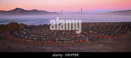 Landet Ende in San Francisco, Kalifornien - Stockfoto