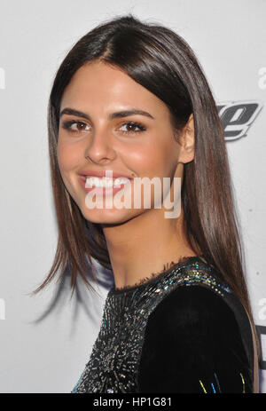 New York, USA. Bo Krsmanovic besuchen Sie Sports Illustrated Swimsuit 2017 NYC Launch-Event im Center415 Event Space - Stockfoto