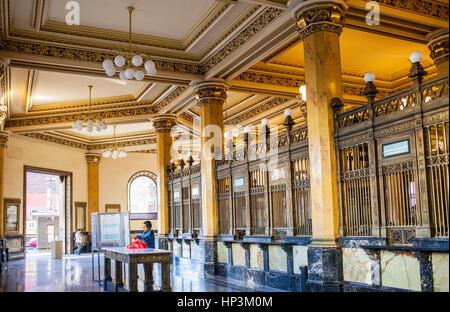 Der Post Office Palast, Palacio de Correos, ist einer der brillantesten Beispiele der eklektischen Architektur die - Stockfoto