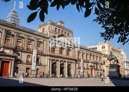 Escuela de Mineria, Plaza de Manuel Tolsá, Mexico City, Mexiko - Stockfoto