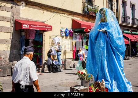 La Santa Muerte, Tod der Heiligen, De La Santisima Straße, Mexico City, Mexiko - Stockfoto