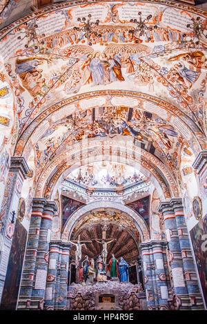 Santuario de Atotonilco, Atotonilco, San Miguel de Allende, state Guanajuato, Mexiko - Stockfoto