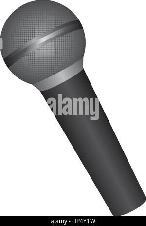 Emblem-Mikrofon-Symbol-Lager Vektor Abbildung - Bild: 134103609 - Alamy