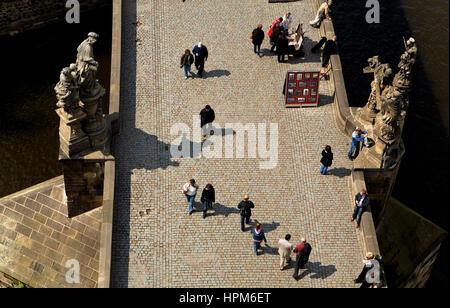 Karlsbrücke. Prag. Tschechische Republik