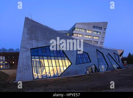 Architekten Lüneburg neue zentrale gebäude vom architekten daniel libeskind leuphana
