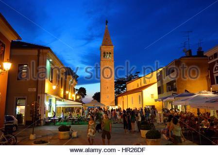 Zentrum der Stadt Novigrad, Istrien, Kroatien - Stockfoto