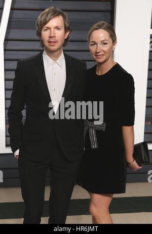 Beverly Hills, Kalifornien, USA. 26. Februar 2017. Beck auf der Vanity Fair Oscar Party 2017 am 26. Februar 2017 - Stockfoto