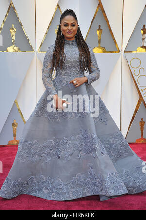 HOLLYWOOD - 26 Februar: Ava DuVernay besucht der 89th Annual Academy Awards am Dolby Theater am 26. Februar 2017 - Stockfoto