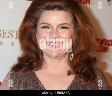 Los Angeles, Kalifornien, USA. 26. Februar 2017. Renee Lawless im Ankunftsbereich für Hollywood Oscar anzeigen Abendessen, - Stockfoto